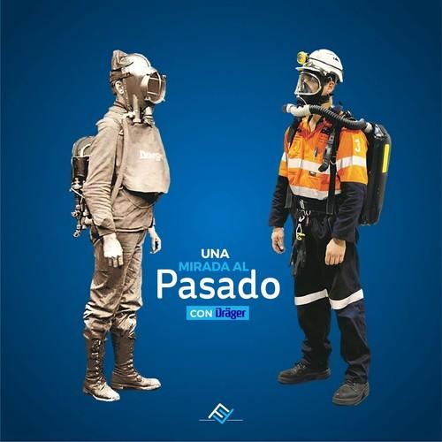 El día de hoy de la mano de @draeger.global, te presentamos esta evolución en equipos respiratorios para rescate minero que salta a la vista 🙌✨ . . . . #SolucionesFonina #Dräger #Drager #Rescateminero #Sualiadoseguro #Seguridad #SolucionesEnSeguridad  #FBF #FlashbackFriday #Barranquilla #Bquilla