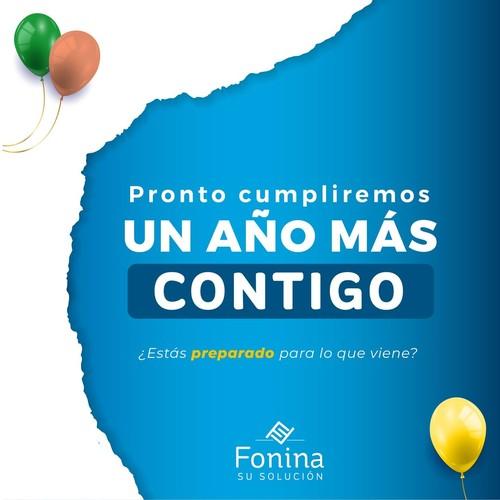 ¡Se acerca una fecha muy importante para Fonina! 🎊 Pronto cumpliremos un año más junto a ustedes y desde ya tenemos listas varias sorpresas especiales. 🎉🎂🎉  ¿Estás preparado para lo que viene? 🙌✨ . . . #SolucionesFonina #Fonina12Años #ComingSoon #AniversarioFonina #SorpresaEspecial #CumpleañosFonina #Barranquilla #Bquilla